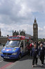 Ice Cream Van Westminster Bridge London May 2010