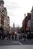 Street scene Whitehall towards Parliament Square London