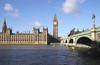 Westminster Bridge and Houses of Parliament London