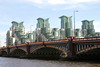 Vauxhall Bridge and St George's Wharf London