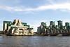 MI6 Building and St George's Wharf Vauxhall London