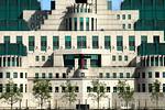MI6 Building Vauxhall London
