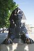 Sphinx at Cleopatras Needle Victoria Embankment London