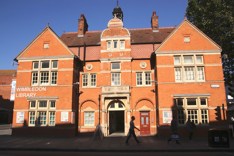 Wimbledon Library London