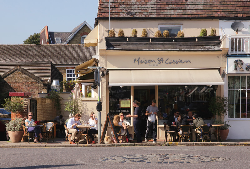 Maison St Cassien restaurant Wimbledon Village London