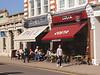 Costa cafe High Street Wimbledon Village London