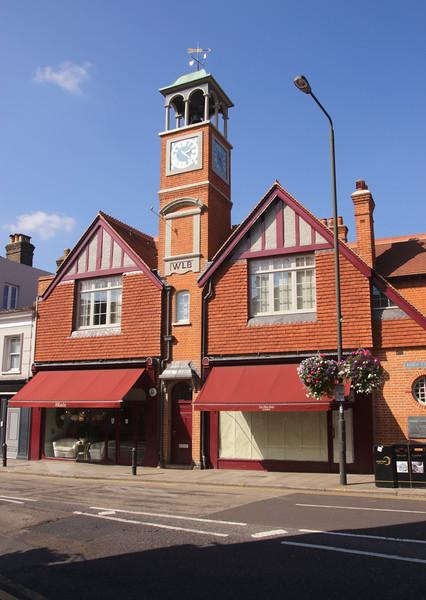 Old Fire Station Clock Tower Wimbledon Village London