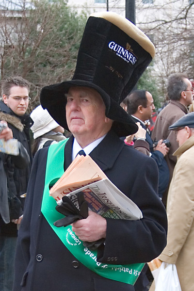 Saint Patrick's Day, London