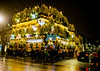 The Churchill Arms pub, London, Christmas time 2017