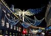 Regent street, London, Christmas 2016