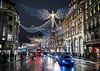 London, Christmas time 2017
