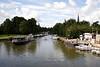 River Thames at Abingdon Oxfordshire