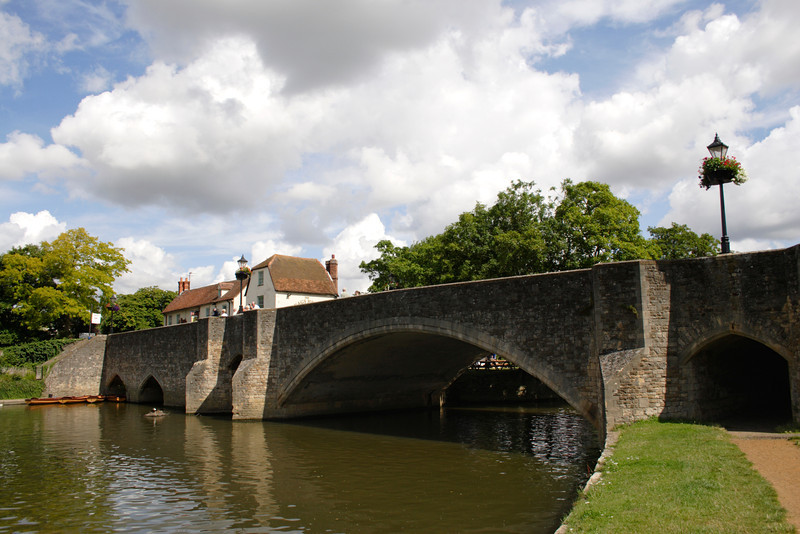 Bridge over the River Thames Abingdon Oxfordshire