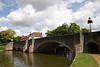 Bridge over the River Thames Abingdon Oxfordshire