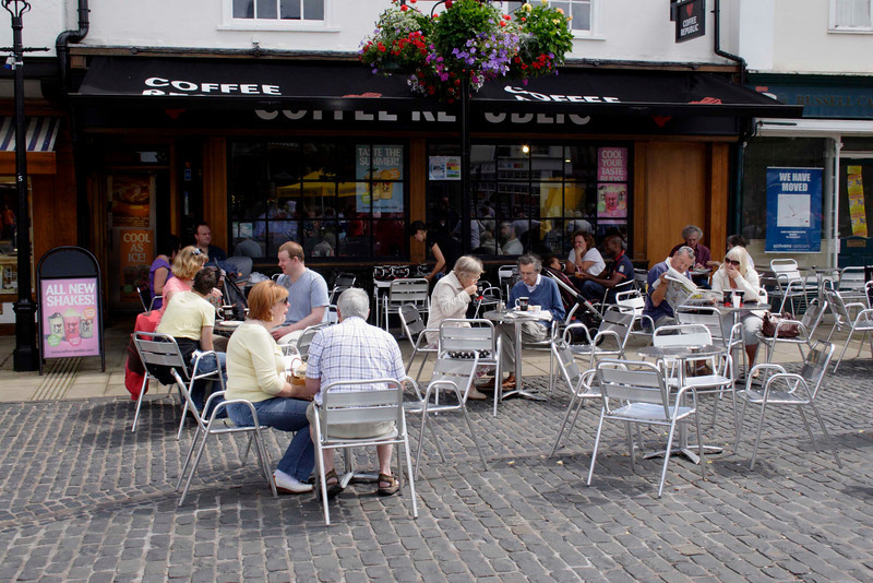 Cafe at Market Place Abingdon