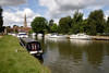 River Thames at Abingdon Oxfordshire