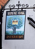 Royal Oak pub sign Watlington Oxfordshire