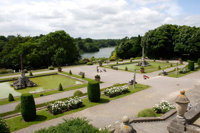 Gardens of Blenheim Palace Oxfordshire