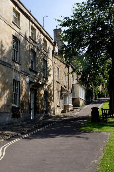 Medieval village of Burford in Oxfordshire