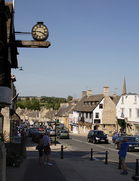 Cotswold village of Burford Oxfordshire