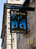 The Royal Oak Pub Sign Burford Oxfordshire
