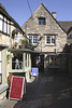 Shops in Amy Vanbrugh Christmas Court Burford Oxfordshire
