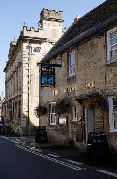 The Royal Oak Pub Burford Oxfordshire