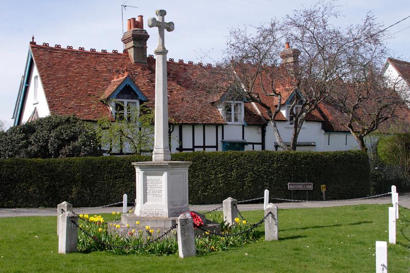 War memorial Dorchester on Thames Oxfordshire