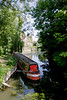 Houseboat at Goring Oxfordshire