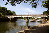 Bridge over River Thames Goring Oxfordshire