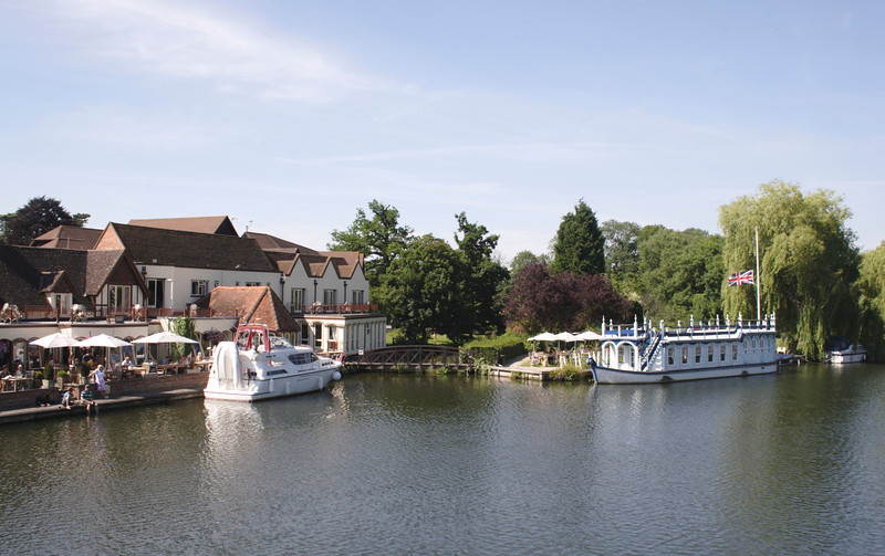 River Thames at Goring Oxfordshire