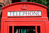 English public Telephone Box