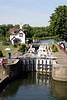 Lock at Goring Oxfordshire