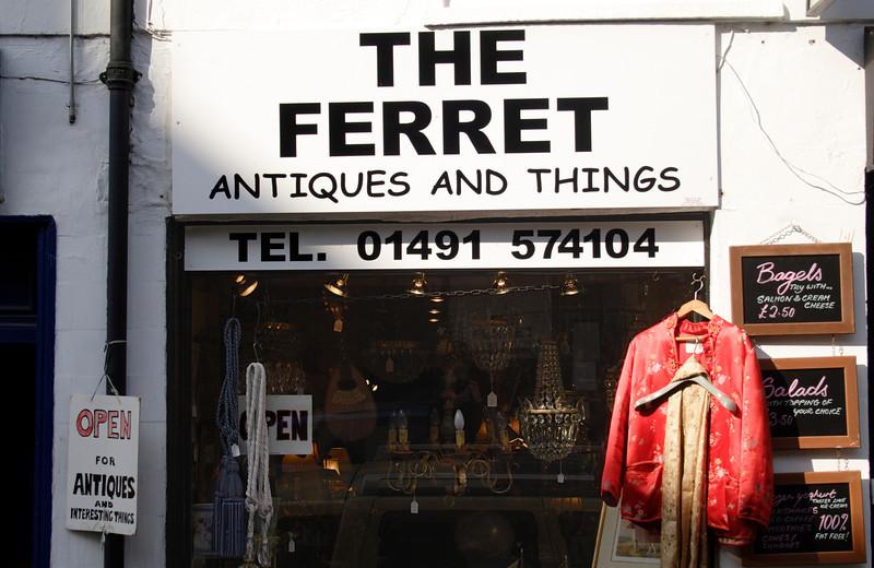 The Ferret Antiques shop Henley Oxfordshire