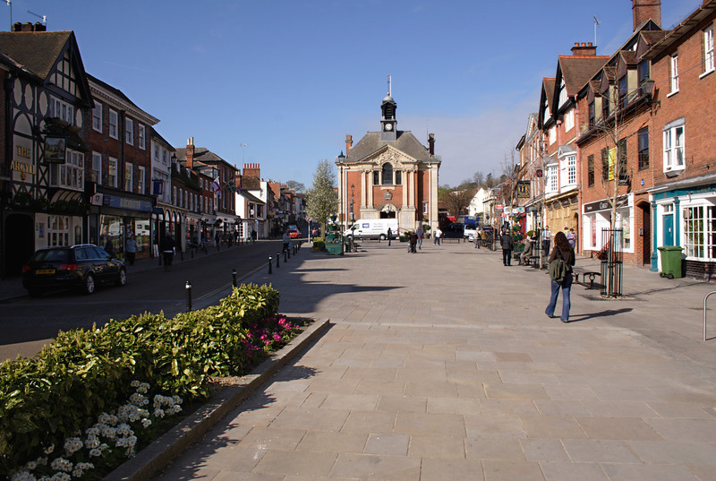 Market Place Henley Oxfordshire