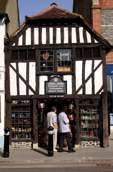 Tudor House Antiques shop Henley Oxfordshire