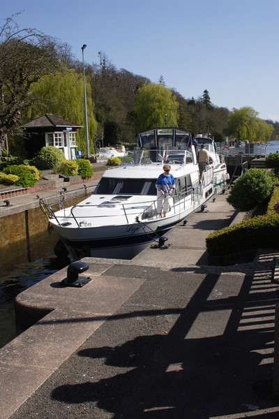 Marsh Lock at Henley on Thames Oxfordshire