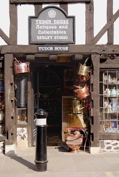 Tudor House Antiques shop Henley Oxfordshire