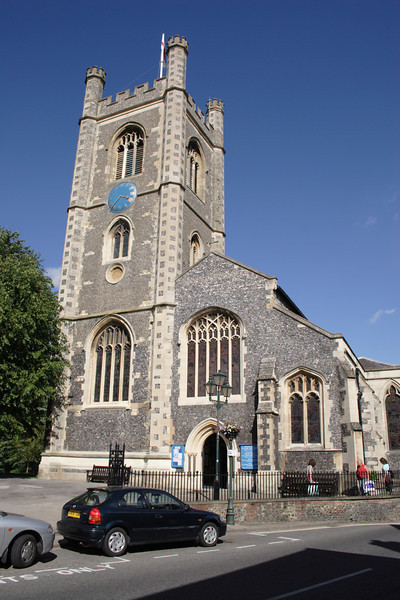 St Mary's Church at Henley on Thames Oxfordshire