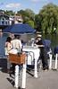 Ice cream salesman at Henley Oxfordshire
