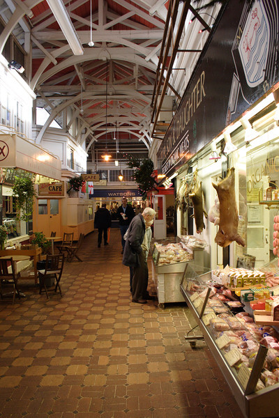 Shopping at the Covered Market Oxford