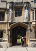 Entrance gate All Souls College Oxford