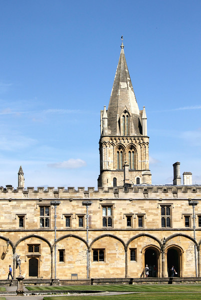 Quadrangle of Christ Church College Oxford