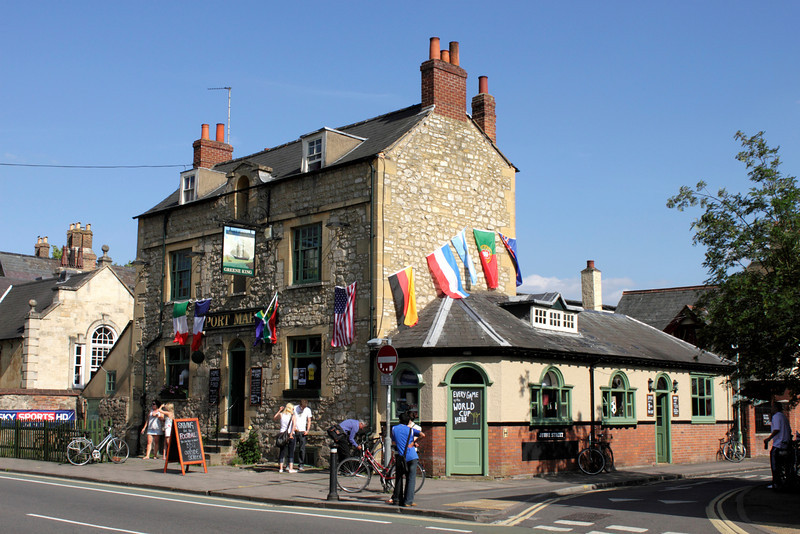 The Port Mahon Pub St Clement's Street Oxford summer 2010