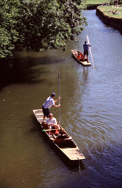 Punting in Oxford