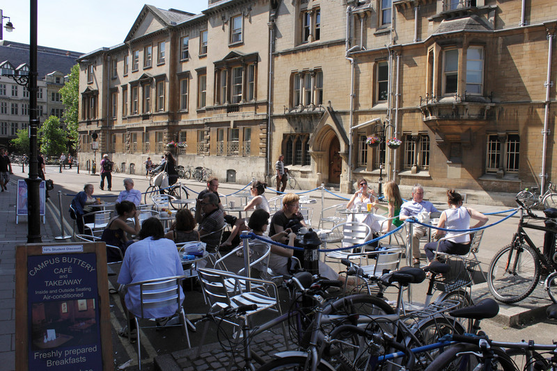 Campus Buttery Cafe Broad Street Oxford June 2010