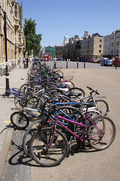 Bicycles Broad Street Oxford