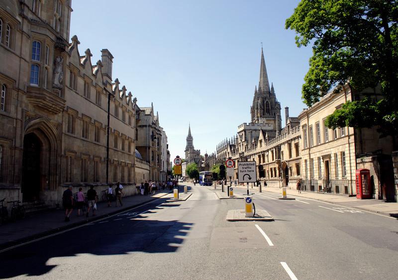 High Street Oxford
