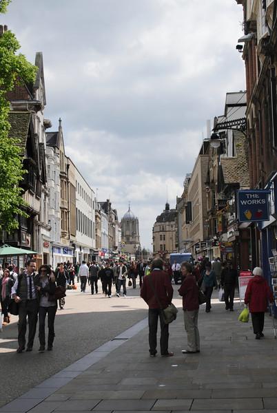 Cornmarket Street Oxford May 2010