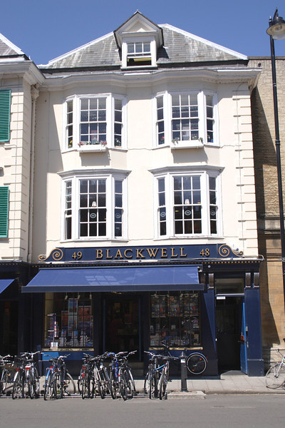 Blackwell Bookstore Broad Street Oxford